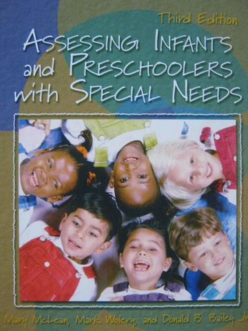 Assessing Infants & Preschoolers with Social Needs 3e (H)