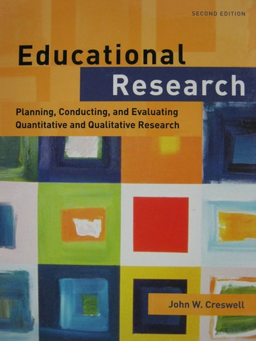 Educational Research 2nd Edition (H) by John W Creswell