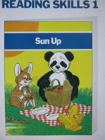 Sun Up Reading Skills 1 (P) by Early, Cooper, & Santeusanio