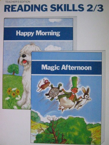 Happy Morning / Magic Afternoon Reading Skills 2/3 TE (TE)(P)