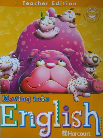 Moving into English 1 TE (CA)(TE)(Spiral) by Ada, Campoy,