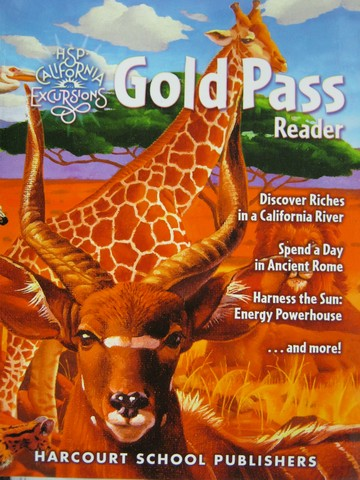 California Excursions 6 Gold Pass Reader (CA)(P) by Beck, Farr,