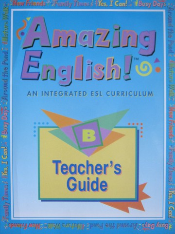 Amazing English! B Teacher's Guide (TE)(Spiral) by Luja,
