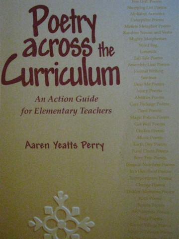 Poetry Across the Curriculum (P) by Aaren Yeatts Perry