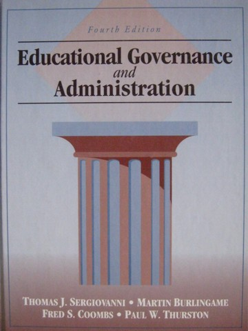 Educational Governance & Administration 4th Edition (H)