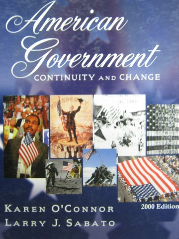 American Government Continuity & Change 2000 Edition (H)