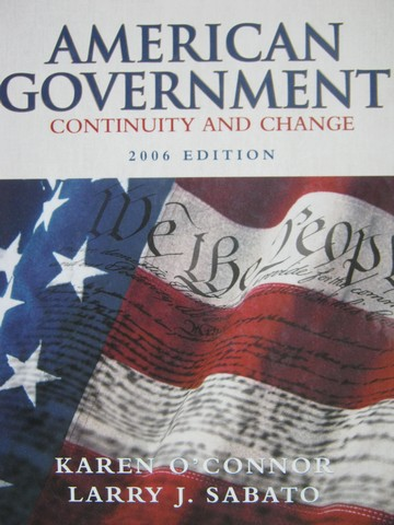 American Government Continuity & Change 2006 Edition (H)