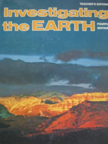 Investigating the Earth 4th Edition TE (TE)(H) by Matthews III,