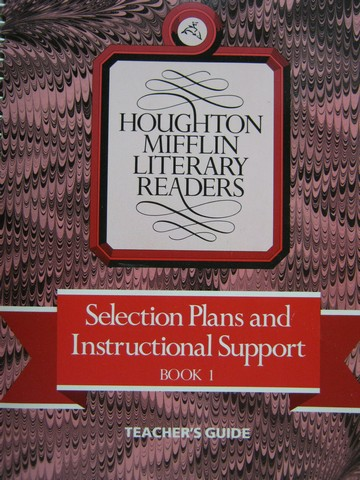 Literary Readers 1 Selection Plans & Instructional (TE)(Spiral)