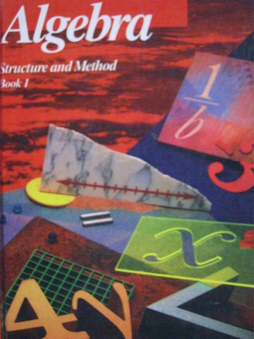 Algebra Structure & Method Book 1 (H) by Brown, Dolciani,