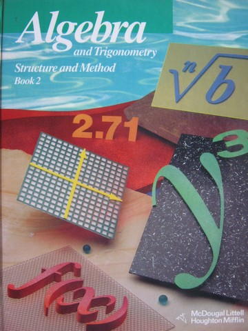 Algebra & Trigonometry Structure & Method Book 2 (H) by Brown,