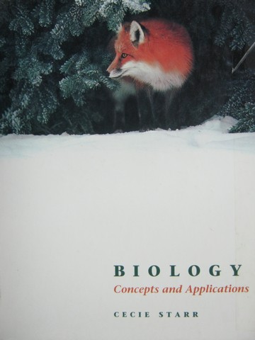 Biology Concepts & Applications (H) by Cecie Starr