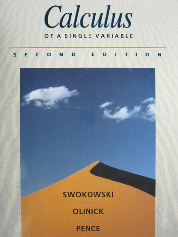 Calculus of a Single Variable 2nd Edition (H) by Swokowski,