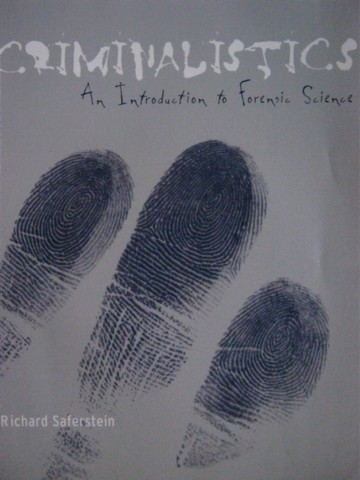 Criminalistics An Introduction to Forensic Science 8e (P)