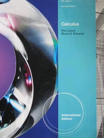 Calculus 9th Edition Revised Edition International Edition (P)