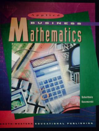 Applied Business Mathematics, Teachers Edition