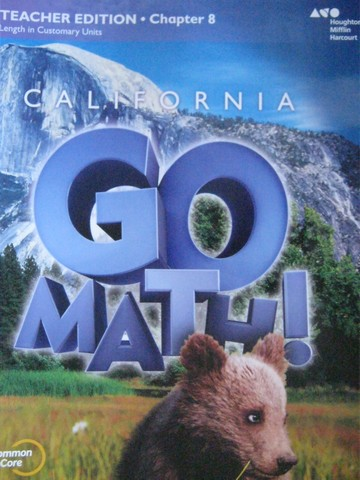 California Go Math! 2 Common Core TE Chapter 8 (CA)(TE)(P)