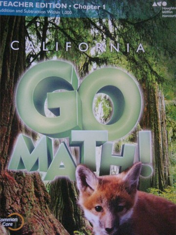 California Go Math! 3 Common Core TE Chapter 1 (CA)(TE)(P)