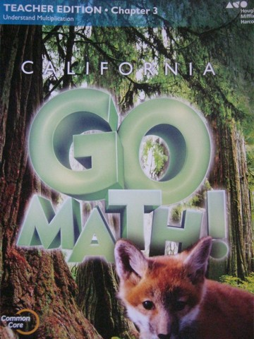 California Go Math! 3 Common Core TE Chapter 3 (CA)(TE)(P)