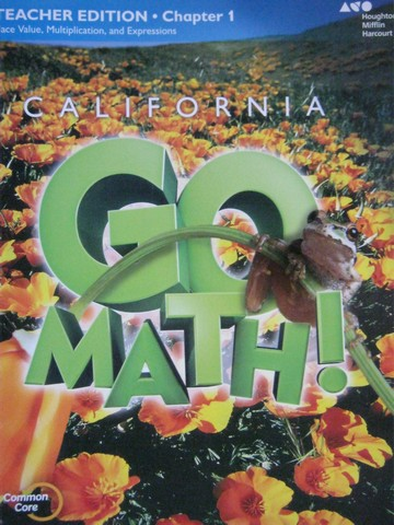 California Go Math! 5 Common Core TE Chapter 1 (CA)(TE)(P)