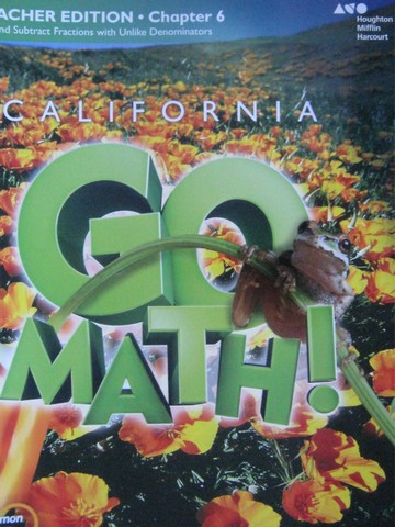 California Go Math! 5 Common Core TE Chapter 6 (CA)(TE)(P)