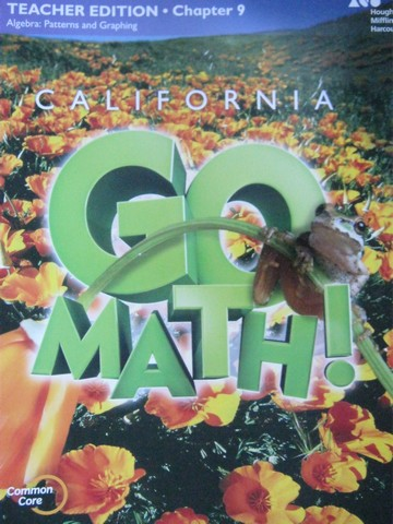 California Go Math! 5 Common Core TE Chapter 9 (CA)(TE)(P)