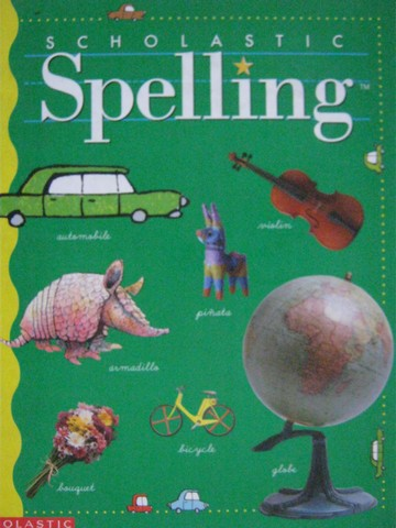 Scholastic Spelling 5 (H) by Louisa Moats & Barbara Foorman