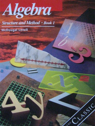 Algebra Structure & Method Book 1 The Classic Edition (CA)(H)