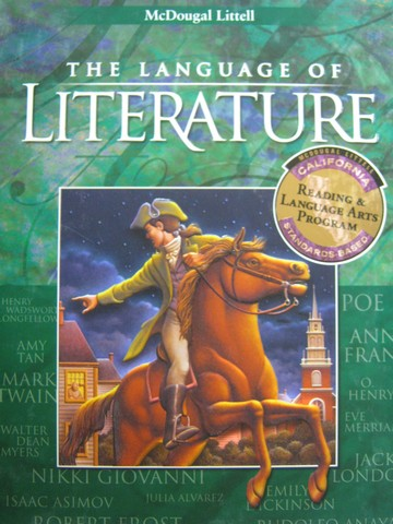 Language of Literature 8 (CA)(H) by Barkett, Bautista, Diamond,