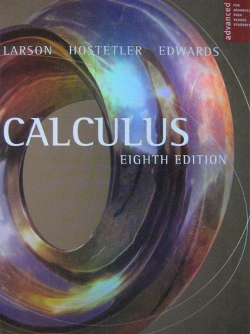 Calculus with Analytic Geometry 8th Edition AP Edition (H)