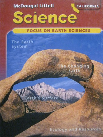 Focus on Earth Sciences California Edition (CA)(H) by Trefil,