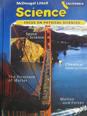 Focus on Physical Sciences California Edition (CA)(H) by Trefil,