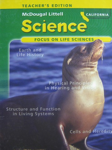 Focus on Life Sciences TE (CA)(TE)(H) by Trefil, Calvo, Cutler,
