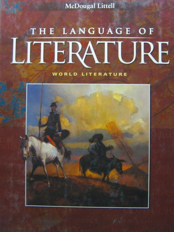 Language of Literature World Literature (CA)(H) by Applebee,
