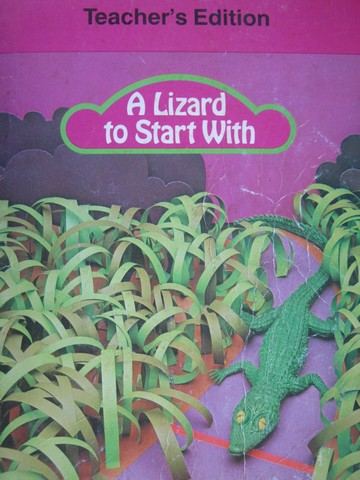 A Lizard to Start With TE (TE)(Spiral) by Clymer, Indrisano