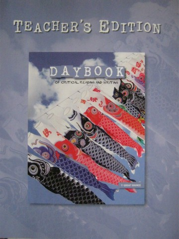 Daybook of Critical Reading & Writing 4 TE (TE)(P) by Robb,