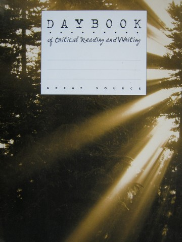 Daybook of Critical Reading & Writing 11 (P) by Claggett, Reid,