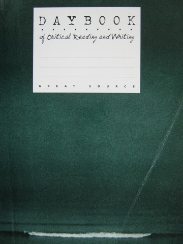 Daybook of Critical Reading & Writing 12 (P) by Claggett, Reid,