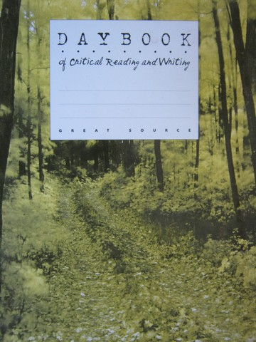 Daybook of Critical Reading & Writing 6 (P) by Claggett, Reid,