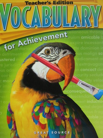 Vocabulary for Achievement 2nd Course TE (TE)(P)