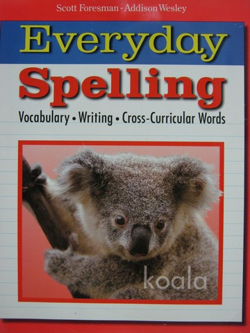 Everyday Spelling 6 (P) by Beers, Cramer, & Hammond