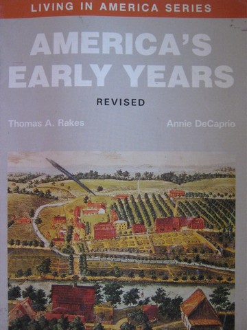 America's Early Years Revised (P) by Rakes & DeCaprio