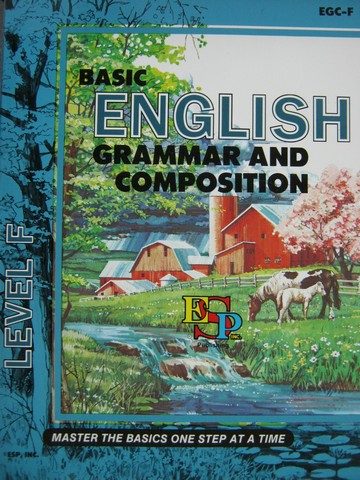 Basic English Grammar & Composition Level F (P) by Brooks & Shaw