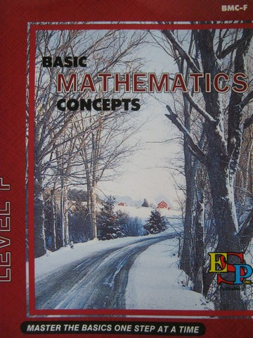 Basic Mathematics Concepts Level F (P) by Serena Crompton