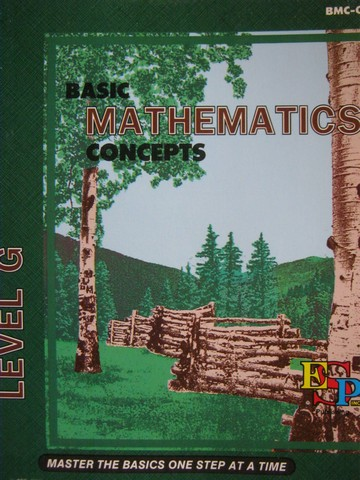 Basic Mathematics Concepts Level G (P) by Brooks, Shaw,