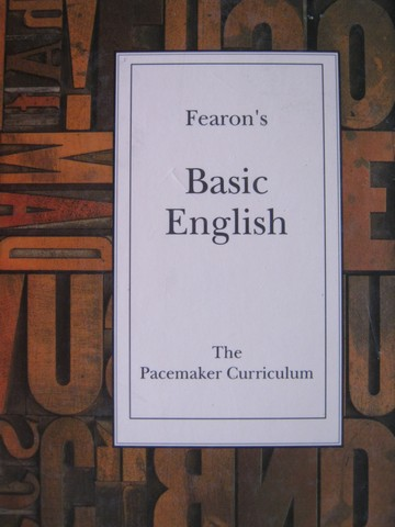 Fearon's Basic English (H) by Joan Kreisl