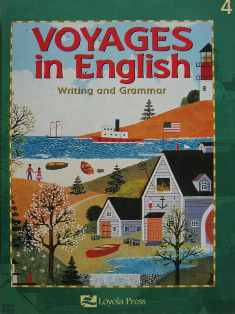 Voyages in English Writing & Grammar Grade 4 (H) by Dimick