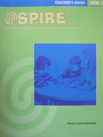 SPIRE 3rd Edition 1 TG (TE)(Spiral) by Sheila Clark-Edmands