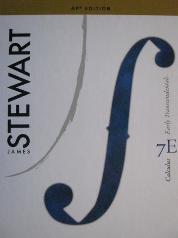 Calculus Early Transcendentals 7e AP Edition (H) by Stewart