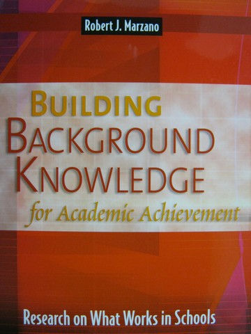 Building Background Knowledge for Academic Achievement (P)